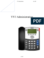 YV3 Administration