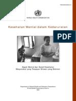 Mental Health in Emergenices Bahasa