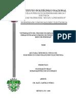 Tesis. Optimización Del Proceso de Empalme Por Fusión [IPN]