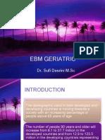 Ebm Geriatric-drug Therapy