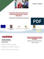 Prezentare Cadru POS DRU 2007-2013
