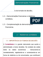 Capitulo 3 - Demonstrações Financeiras