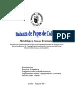 Metodologia Balanza Pagos