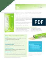 Zija SmartMix Product Profile
