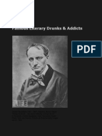 Famous Literary Drunks and Addicts Photo Gallery from Life Magazine 2010