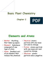 Chapter 2 Basic Plant Chemistry