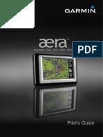 GARMIN aera 500,510,550,560 manual