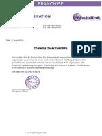 Internship Letter Final Arslan