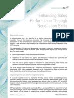 RR Improve Sales Through Negotiation