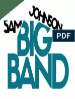 Sam Johnson big band logo