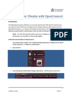 Ubuntu OpenConnect
