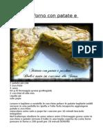 Frittata Al Forno Con Patate e Zucchine