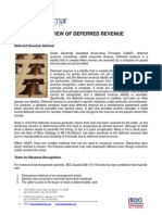 Deferred Revenue Overview