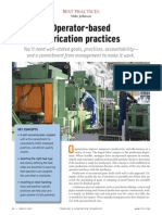 Best Practice 27.Operator Based Lubrication Practices