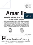 Double Reduction Fan Drive Repair Manual - 0609