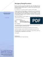 IMCASEL33-05 Emergency Towing Procedure