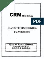 CRM Technical