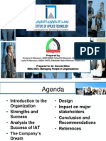 Managing People in Organizations Case Study Presentations