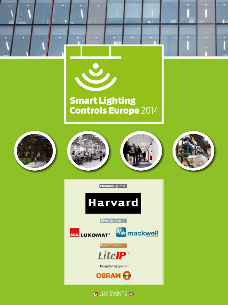 Smart Lighting Controls Europe 2014 | Lighting | London