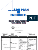 Lesson Plan in English 5 2011