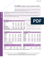 IDFC SSKI MAritime Check - Shipping Monthly - Oct09