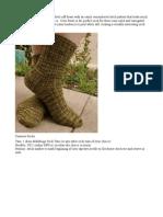 These Corn Row Socks