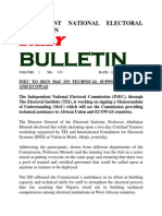 buletin Fom INEC