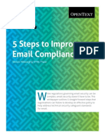 5 Steps to Email Compliance Secure Mail