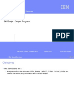 Chapter 04_SAPScript - Output Program
