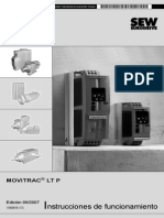 Manual Instrucciones SEW Movitrac LTP