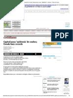 Capital Puxa 'Epidemia' de Roubos; Estado Bate Recorde - 06-07-2014 - Cotidiano - Folha de S