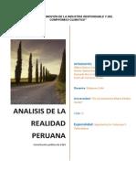 CONSTITUCION 1826 Vitalicia Realidad Peruana