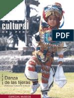 Caceta Cultural Del Perú - Danza de Las Tijeras