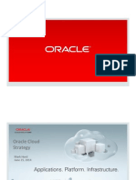 Oracle Cloud Strategy 2014 2015