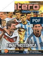 Datero Deportivo Del 11 Al 14 de Julio Del 2014