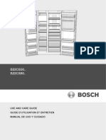 Bosch; Fridge-freezer BS2250; Use & Care Guide [90004840701]