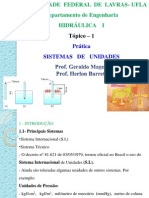 Tópico 1 Sistemas de Unidades