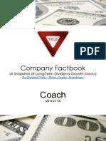 Company Factbook Coach
