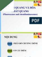 bài giảng phân tích huỳnh quang và phát quang