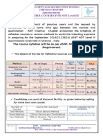 NDT L-III Refresher Course Announcement-Sep'14
