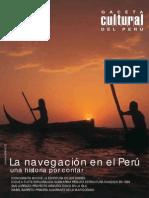 Caceta Cultural Del Perú - Navegación en El Perú
