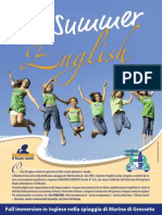 Locandina Summer English 2014