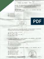 Evaluacion de Matematicas