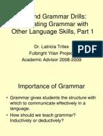 Beyond Grammar Drills 1 Jh
