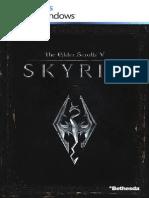 Manual Skyrim