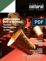 Caceta Cultural Del Perú - Un Recorrido Por La Historia