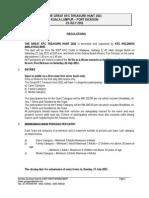 The Great Kfc Treasure Hunt 2011 Regulations