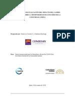Cambio Climático Comunidad Andina