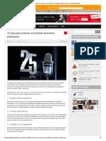 25 Dicas Para Se Tornar Um Produtor de Eventos Profissional _ Produzindo Eventos