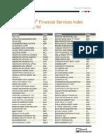 Russell1000FinancialServices Membership List